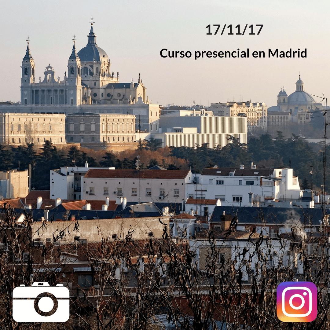 Clase presencial Instagram Madrid