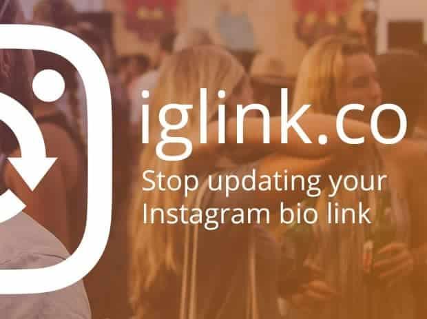 Añadir enlaces externos en Instagram con Iglink