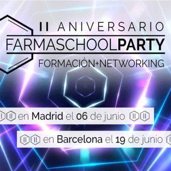 Farmaschool Party II aniversario Madrid