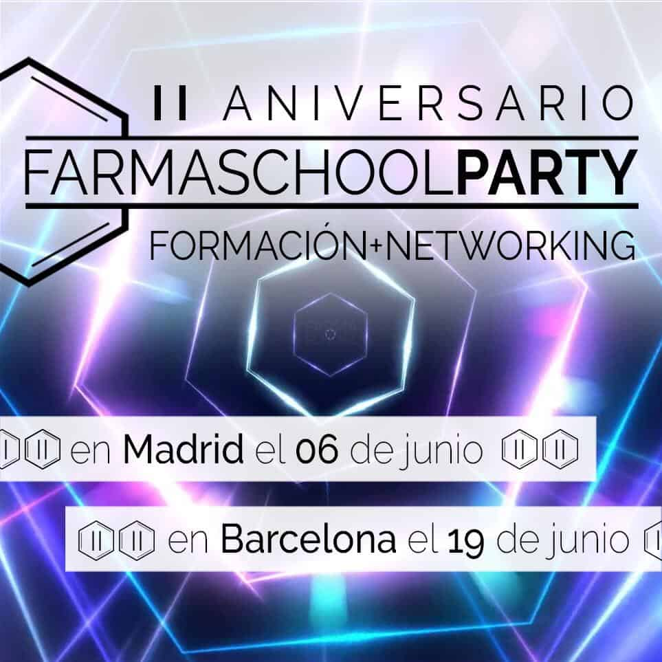 Farmaschool Party II aniversario Madrid
