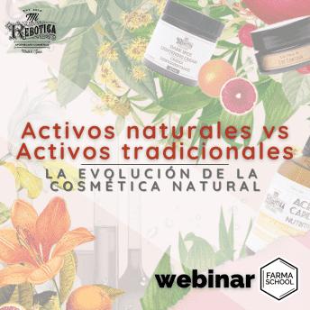 WEBINAR: Activos naturales VS Activos tradicionales