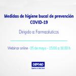 Medidas de higiene bucal de prevención COVID-19