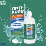OPTI-FREE EXPRESS: No todas las soluciones de mantenimiento son iguales